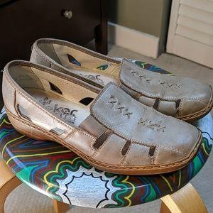 Rieker Antistress Leather Flats